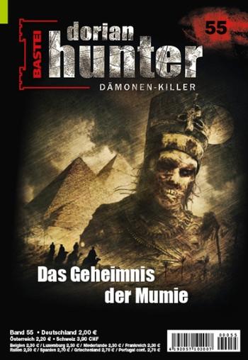 """DORIAN HUNTER-Romanheft 55, """"Das Geheimnis der Mumie"""""""